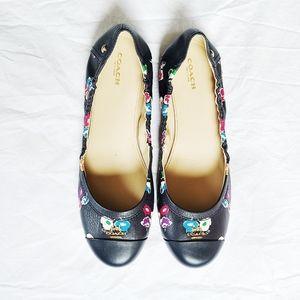 NWOB Coach Camilla Floral Ballet Flats, 9